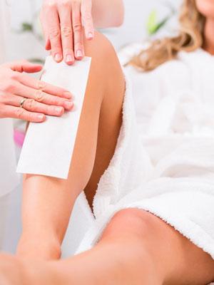 depilacja woskiem salon kosmetyczny