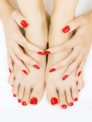 salon urody pedicure